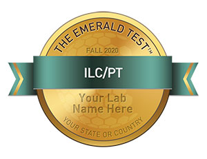 Emerald Scientific ILC-PT Badge